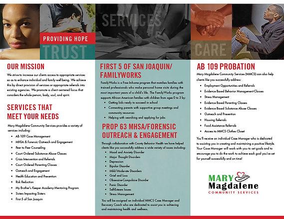Mary Magdalene Community Service Brochur