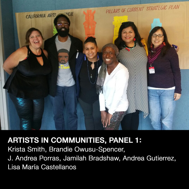 EYV working with The California Arts Council!