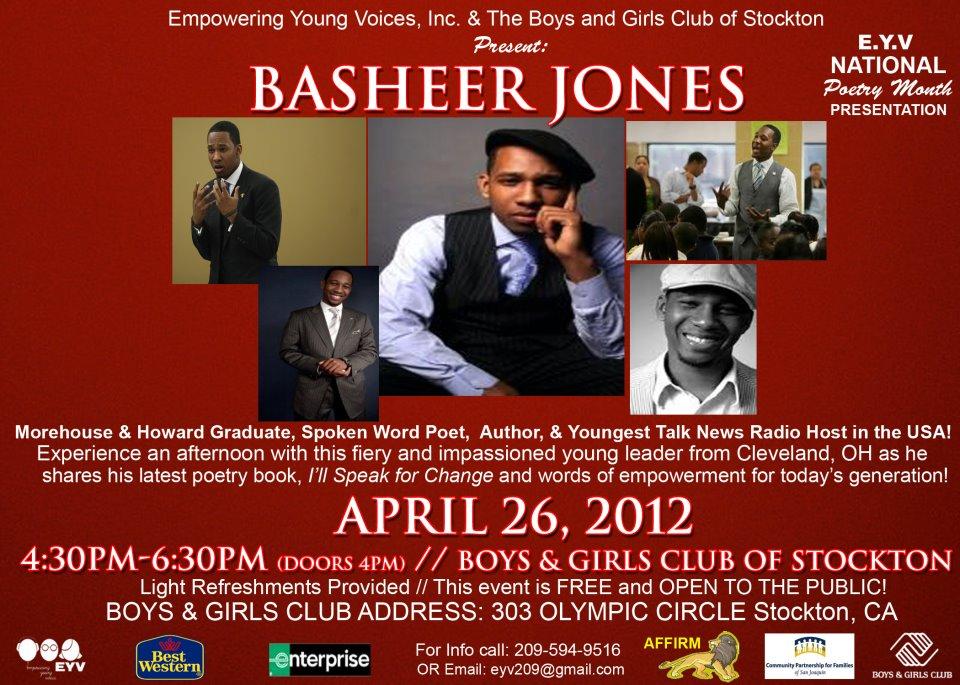 BASHEER JONES!