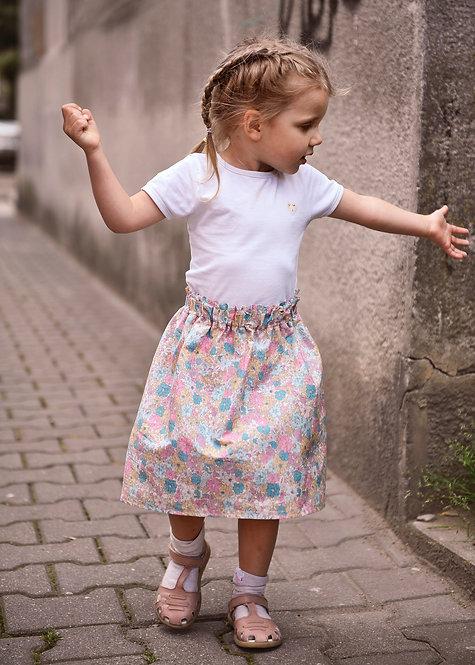"""Bawełniana spódnica midi """"Kreatywna"""""""