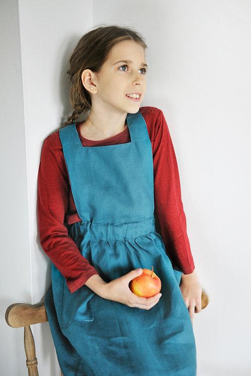 Sukienice - spódniczka - ogrodniczka dla dziewczynki