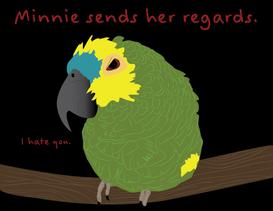 Minnie Regards