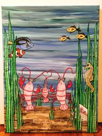 Lobster Family Love