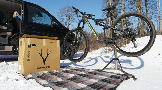 """Whyte S-150 RS Carbon - """"SwitchAble"""""""