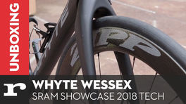 Unboxing the Whyte Wessex - SRAM showcase 2018 tech