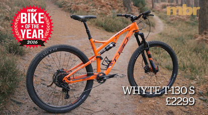 MTB of the year 2016: Whyte's T-130S   MBR