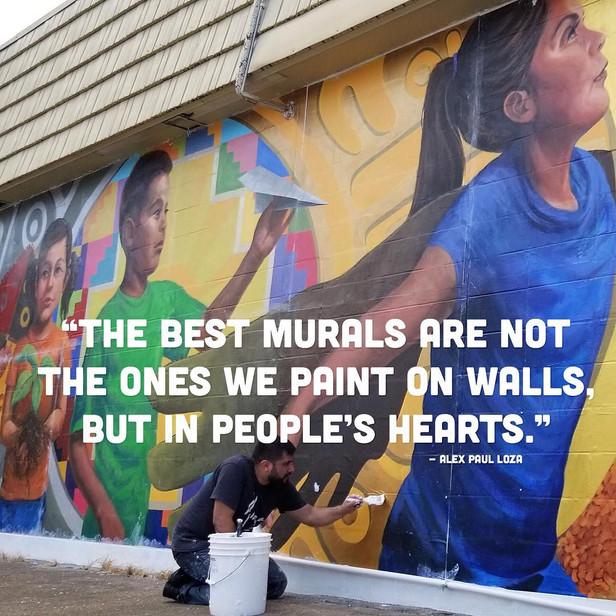 New Mural Showcases Local Latino Community