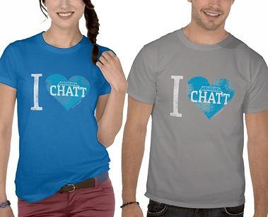 I Heart Chatt tshirt photo