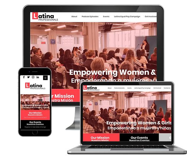 LPC Desktop website and mobile