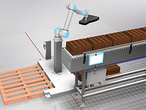 The Robot People Collaborative Robot Palletiser