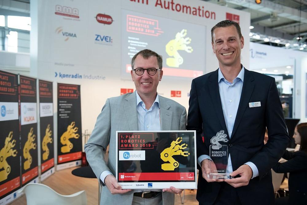 OnRobot Wins Two Awards for its Gecko Gripper