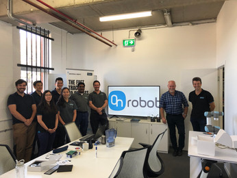 Training Day with Our Partner OnRobot