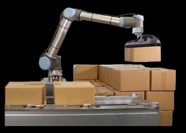 Universal Robots Robotic Palletising System