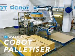 Cobot Palletiser Automatic Adjustment