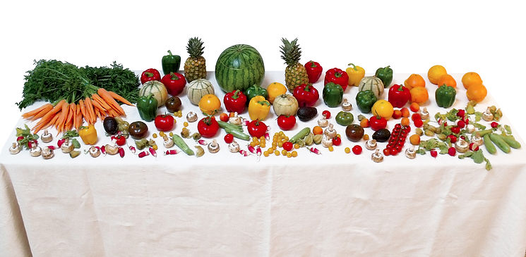 légumes surprise, Myrtille Couten, food design, design culinaire