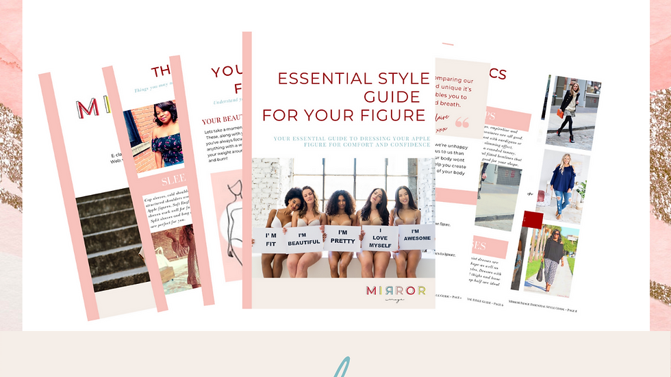 Essential Style Guide - Pear Shape Figure