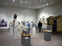 Adrian Stimson: The Immortal Buffalo Boy. Art Gallery of Regina