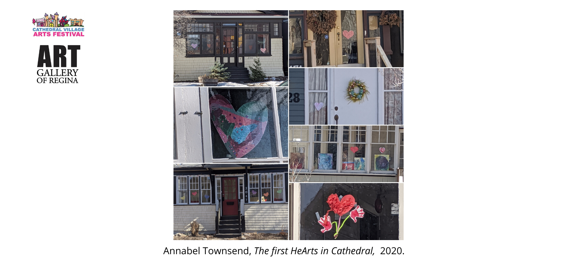 Annabel Townsend, The first HeArts in Cathedral,  2020.