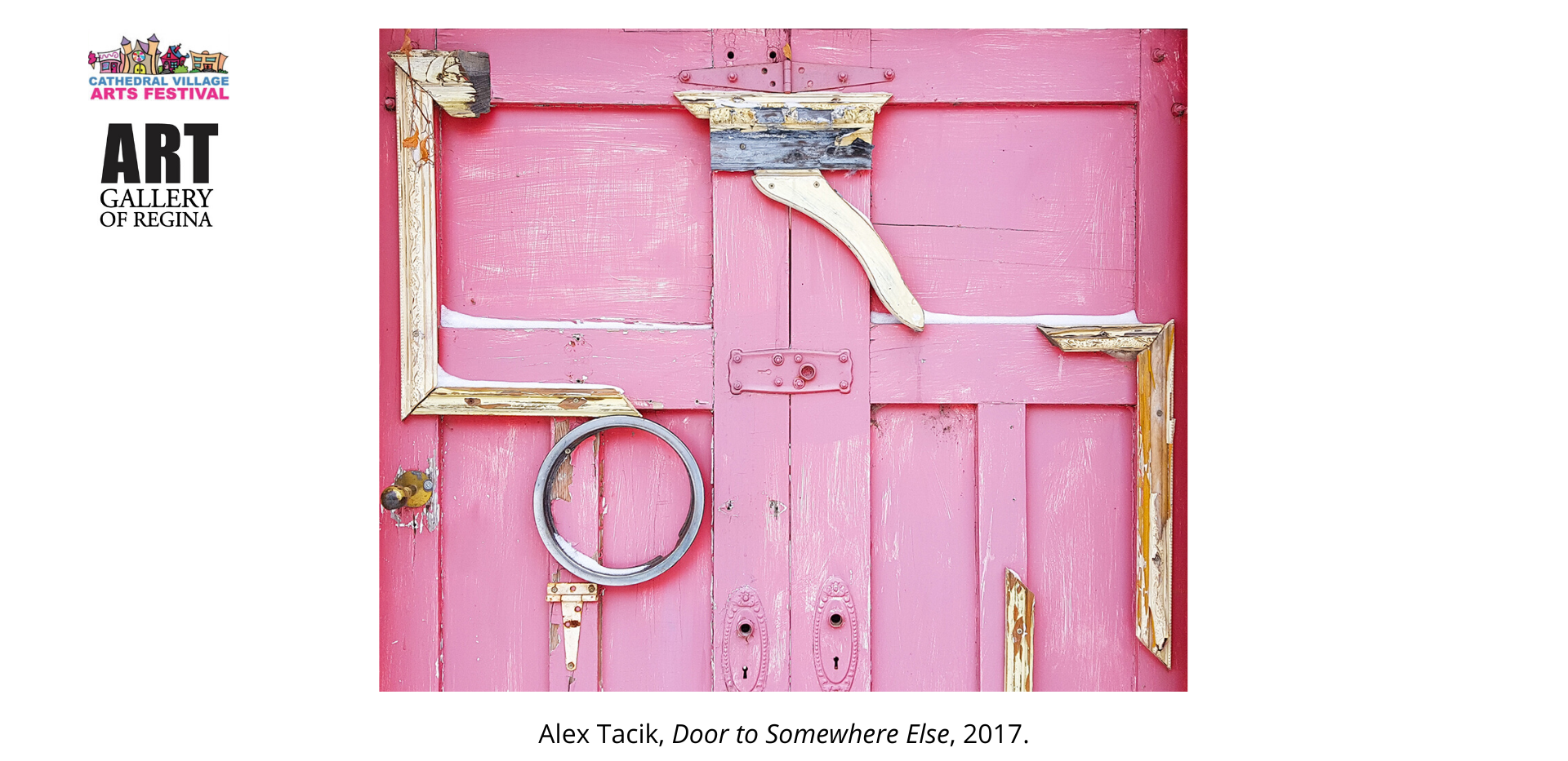 Alex Tacik, Door to Somewhere Else, 2017.