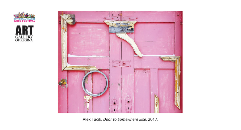 Alex Tacik, Door to Somewhere Else, 2017.