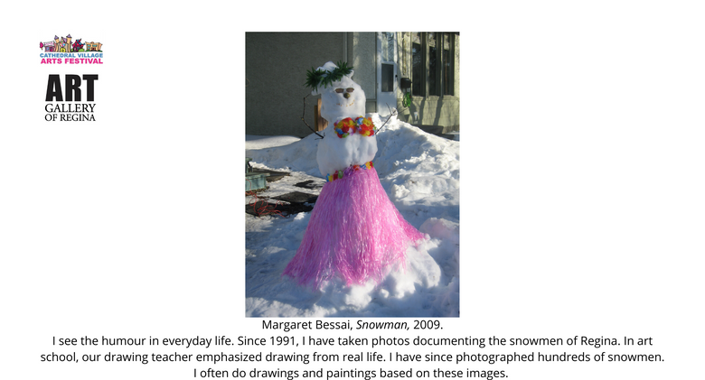 Margaret Bessai, Snowman,2009.