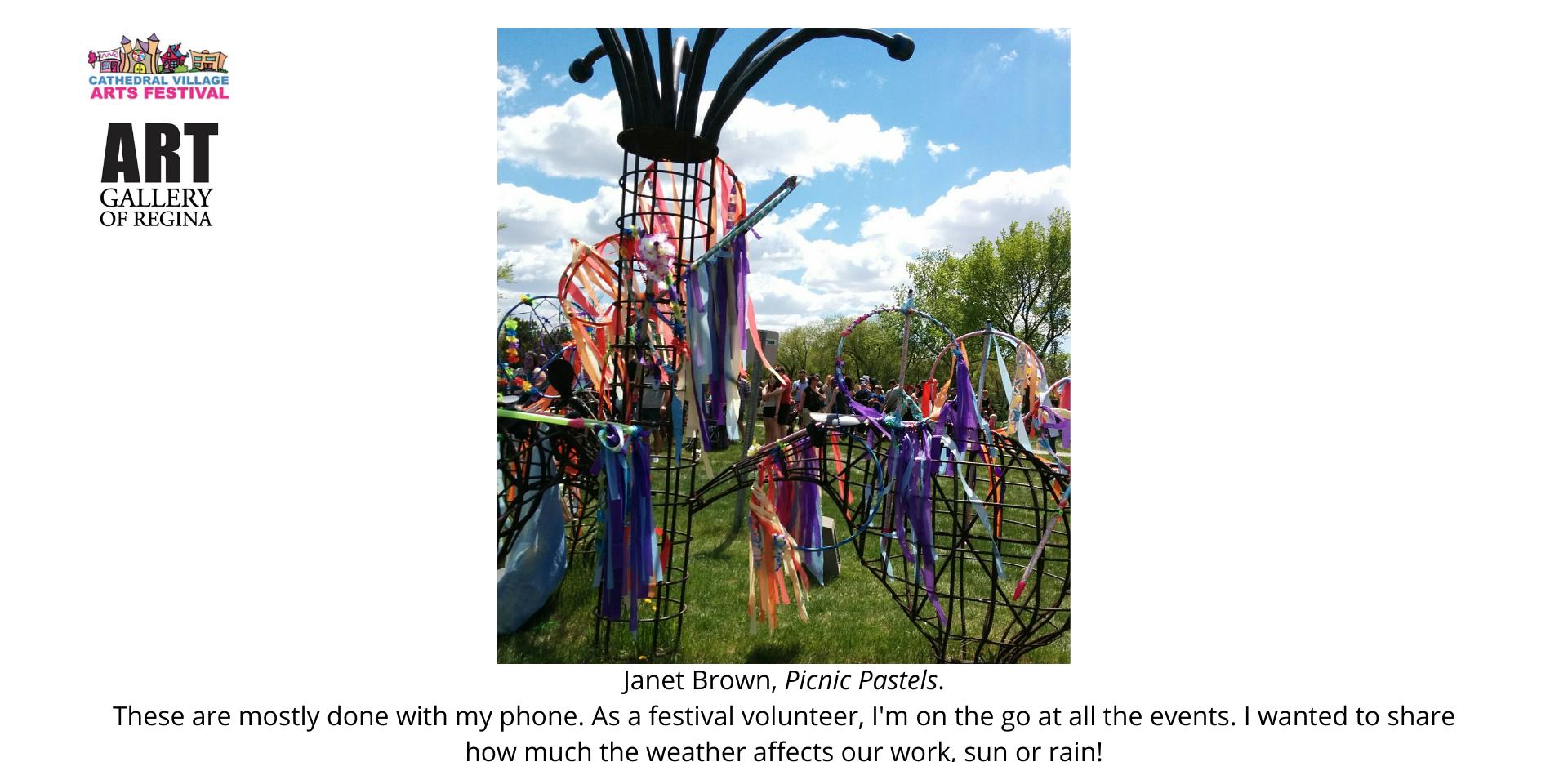 Janet Brown,Picnic Pastels.