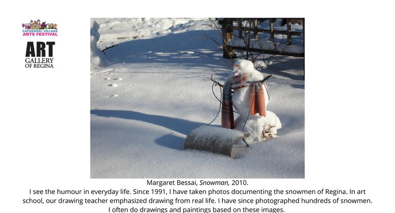 Margaret Bessai, Snowman,2010.