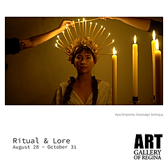 ritual & lore exhibition