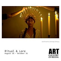 ritual & lore exhibition
