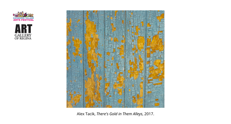 Alex Tacik, There's Gold in Them Alleys, 2017.