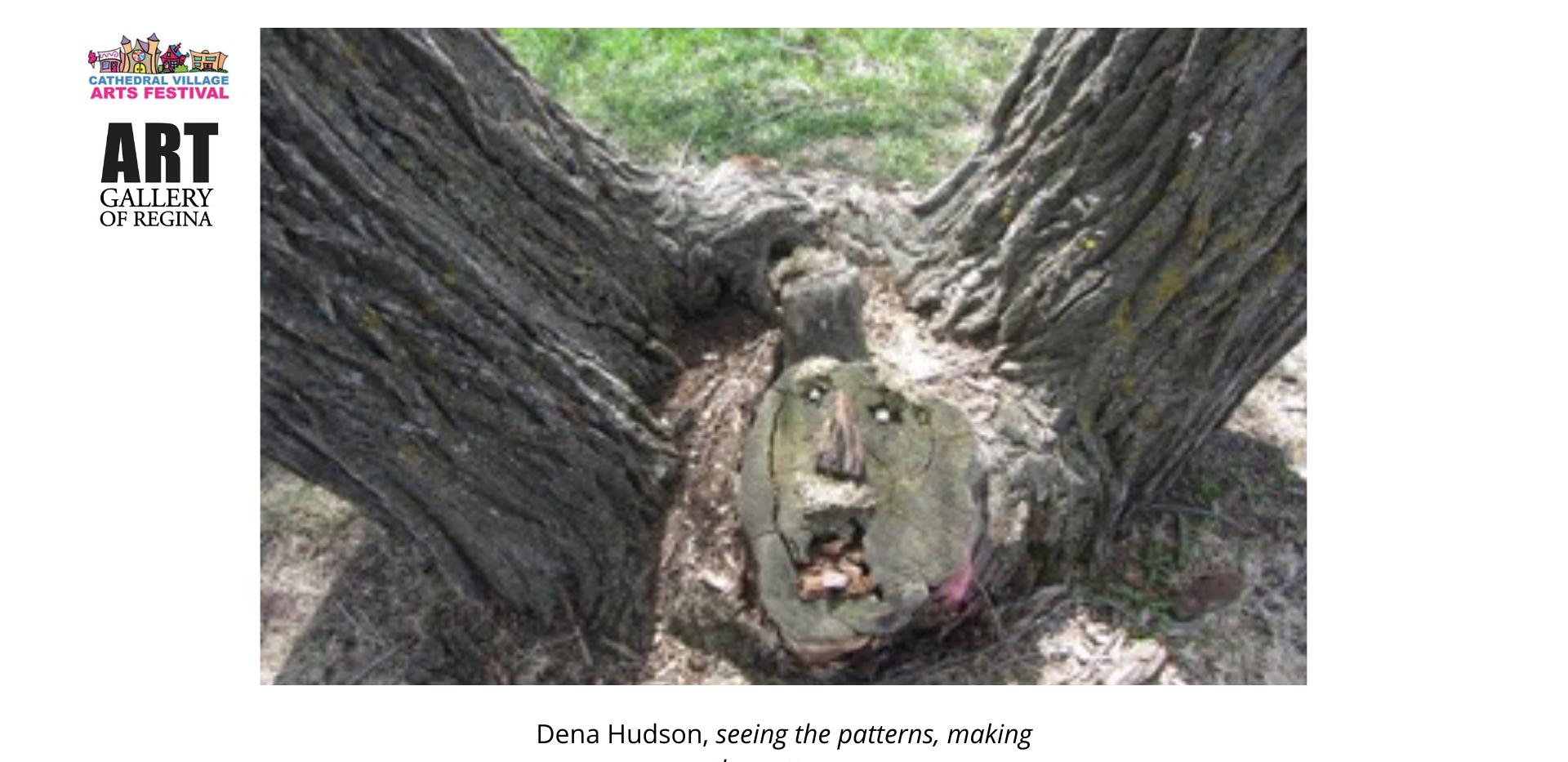 DenaHudson, seeing the patterns, making the patterns.
