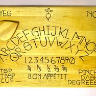 Recipe Book of the Dead Ouija Board Blai