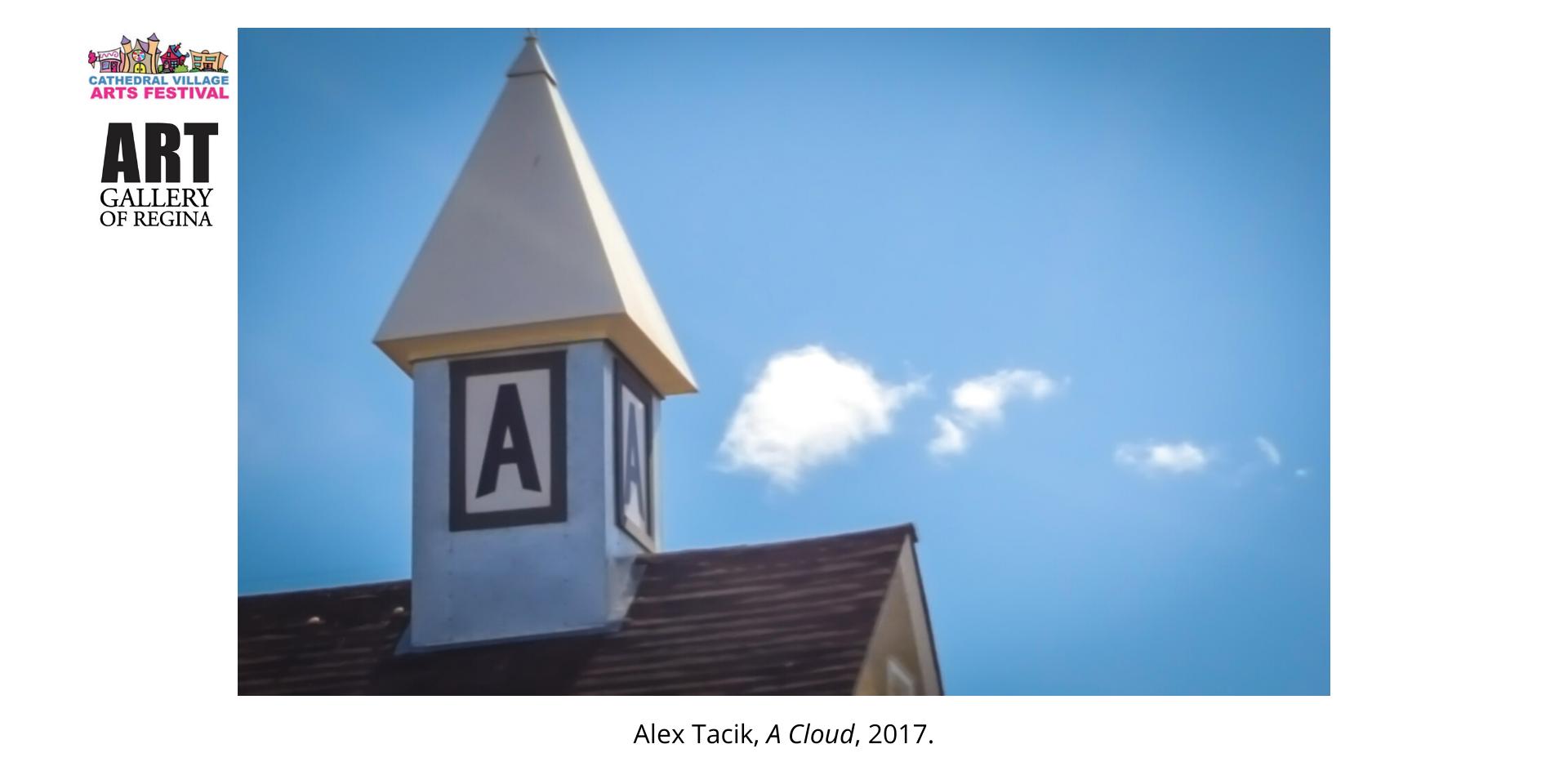 Alex Tacik, A Cloud, 2017.