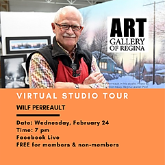 wilf perreault studio tour