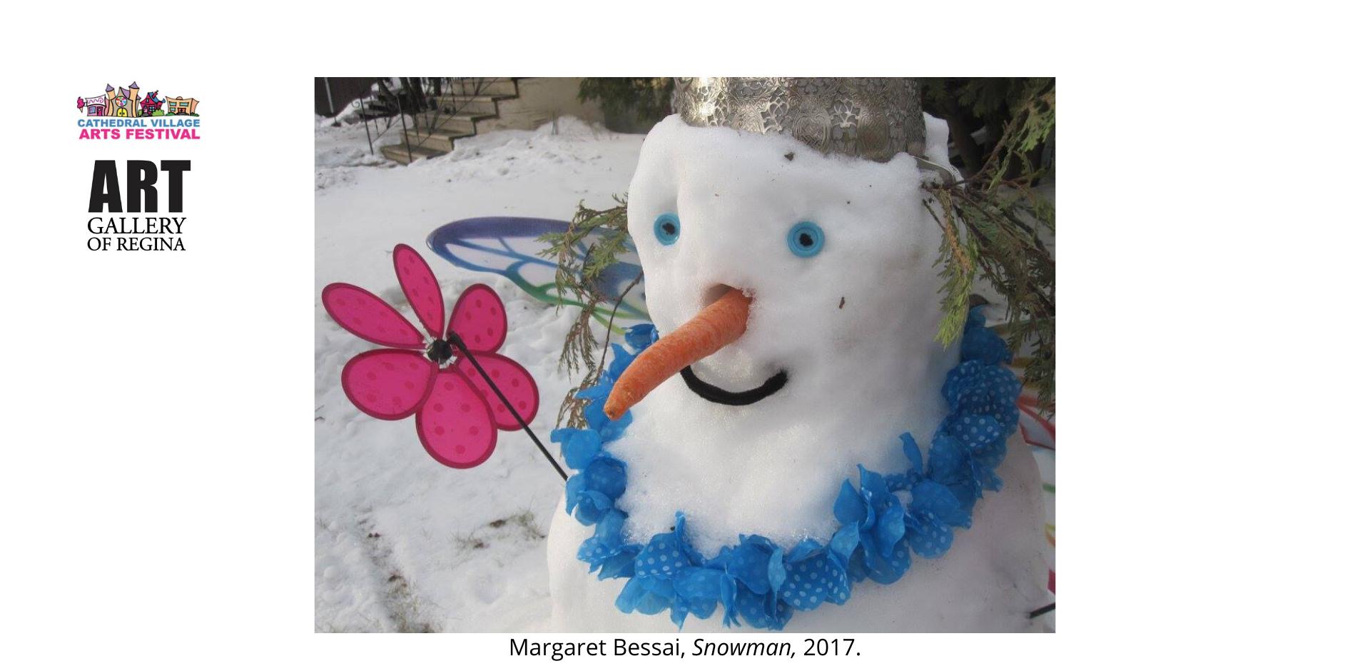 Margaret Bessai, Snowman,2017.