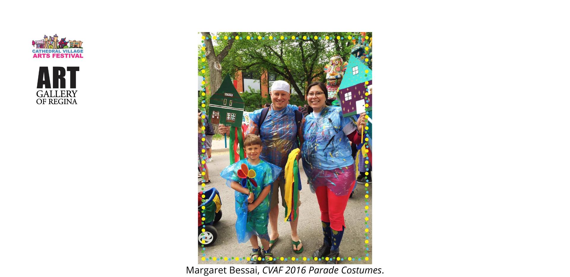 Margaret Bessai,CVAF 2016 Parade Costumes.