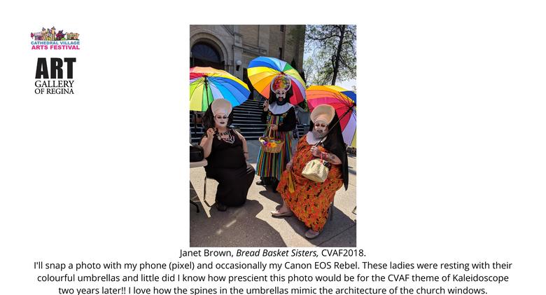 Janet Brown, Bread Basket Sisters, CVAF2018.