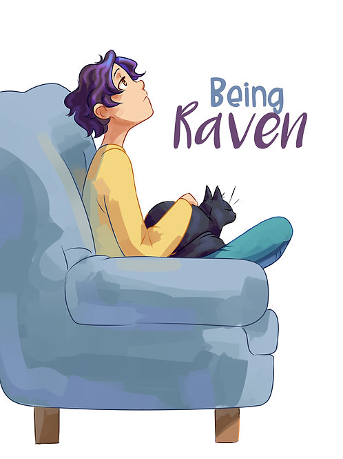 Signed Copy of Being Raven - Hardcover - Preorder