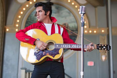 Dean Z as Elvis