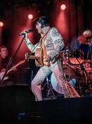 Dean Z as Elvis 1970's
