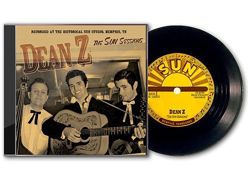 "Dean Z ""The Sun Sessions"" CD"