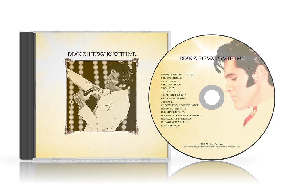 Dean Z | He Walks With Me CD | dean-z-site