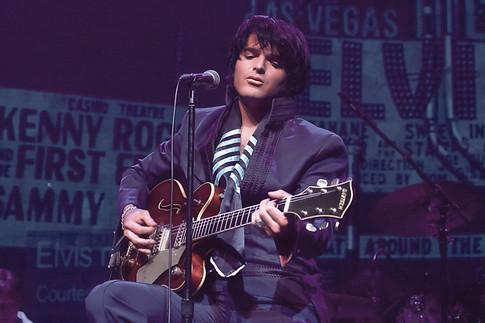 Dean Z as Elvis 1969