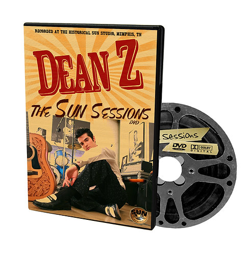 "Dean Z ""The Sun Sessions"" DVD"