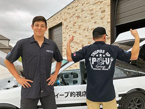 POV Garage Work-Shirt (WS0102)