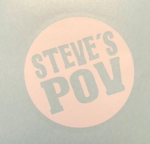 Steve's POV Decal Sticker (S15)