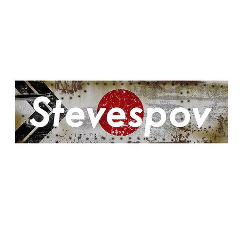 """StevesPOV Official """"HAKOSUKA"""" Stickers (S04)"""