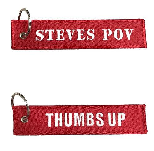 Steve's POV Embroidered Key Holder (BEK01)