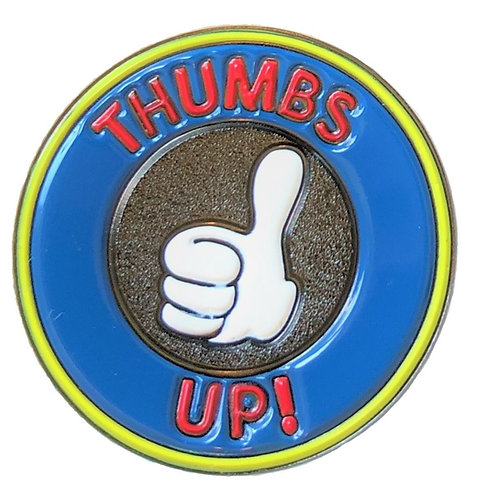 Lapel Pin (P01) Thumbs Up