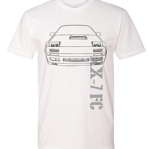 RX-7 FC T-shirt White (BET20)